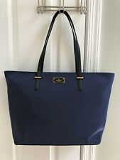 NWT Kate Spade New York Margareta Wilson Road Nylon Tote Bag in French Navy