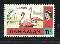 Album Treasures Bahamas  Scott # 322  11c  Elizabeth Flamingoes  Mint VLH
