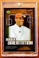 2003-04 LEBRON JAMES💥UD VICTORY #101 Rookie Orientation Foil RC Heat Cavs Laker