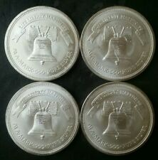 Lot of Four A-Mark 1oz Silver Liberty Silver Rounds