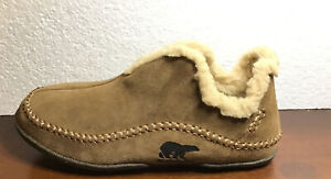 Single Sorel Slipper Size 11.5 Men's Leather Suede Amputee Replacement Shoe Left