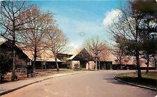 Shendoah National Park Virginia~Curve Past Big Meadows Lodge~1959 Postcard