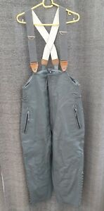 Men's Striwa Leather Grey Dungarees German Size 5