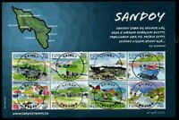 Faroe Islands Sc 477 2006 Sandoy Island stamp souvenir sheet used