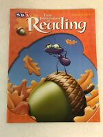 SRA Early Interventions in Reading Activity Book A Level 1