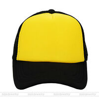 b68c3c29eeb Unisex Men Women Ladies Sport Baseball Golf Mesh Cap Rapper Trucker  Snapback Hat