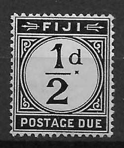 Fiji 1918 1/2d. postage due mounted mint