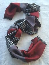 Clearance Sale Only 9.99 Mongolian Cashmere Pashmina Cotton Plaid Men Scarf 060