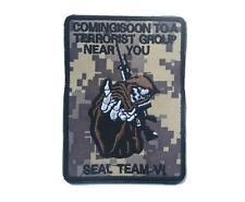 "DEVGRU NAVY SEAL TEAM ST6, ""Coming Soon Terrorist..Near You"" EMBROIDER PATCH ACU"