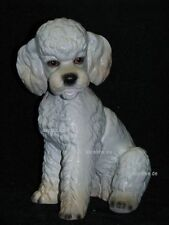+# A002983_48 Goebel Archiv Muster Arbeitsmuster Hund Pudel sitzt TMK6