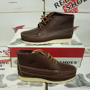 RED WING SHOES 9114 men's leather boots shoe UK 5,5 US 6,5 EUR 38,5 (NEUF)