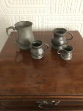 Collection Of Antique Drinks Measures