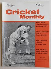 CRICKET MONTHLY Magazine - May 1971