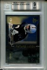 1998 SP Authentic Football #23 Charles Woodson Rookie Card BGS 9