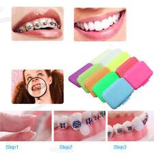 3 Packs Fruit Scent Dental Orthodontics Ortho Wax For Braces Gum Irritation
