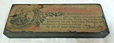 Vintage Antique HOHENZOLLERN ABZIEHSTEINE DROESCHER German Honing Stone