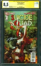 Suicide Squad 1 CGC SS 8.5 Scott Hanna Harley Quinn Cover 2011 new 52