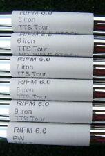 "5-PW NEW ORIGINAL TOUR ISSUE FCM STANDARD RIFLE 6.0 FLEX .355"" TAPER TIP SHAFTS"