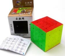 Yuxin Cloud Kylin 5x5x5 Magic Cube Twist Puzzle IQ Fancy Toys Stickerless