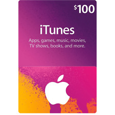 100$ Apple Gift Card | 100 USD iTunes