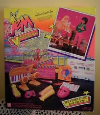 Jem Video Madness Love is Here - 1986 Hasbro - In Box - Never Used
