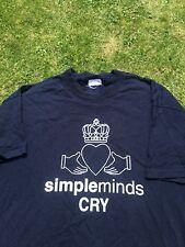 Simple minds 2002 tour t shrt XL.