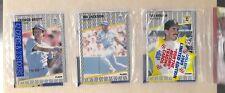1989 Fleer Baseball Rack Pack with Bo Jackson & George Brett on Front KC Royals