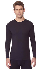 32 DEGREES Men's Heat Performance Thermal Base Layer Tee Black XL