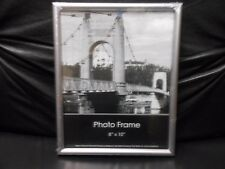 """Picture Wall Frame Silver Acrylic 8"""" X 10"""""""