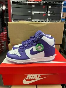 Authentic Nike Dunk High SP Varsity Purple (W) DC5382 100