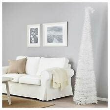 IKEA Fejka Artifical Xmas Christmas Tree 180cm 6ft WHITE NEW