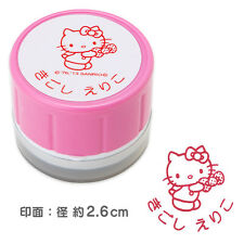 Order made! Hello Kitty Hanko Stamp of Your Name in Hiragana/Katakana/Alphabet