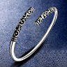 Mens Womens Vintage Ethnic Open Jewelry Tibetan Silver Cuff Bangle Bracelet Gift