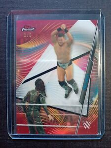 2020 Topps Finest WWE * THE MIZ RED REFRACTOR /5