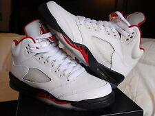 Nike Jordan 5 sz 4 Fire Red 1 3 6 8 9 10 11 12 Lebron KD Kobe lot