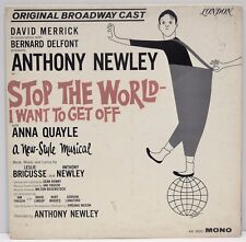 """STOP THE WORLD - I WANT TO GET OFF   """"A Musical""""   Vinyl LP   London  AM58001"""