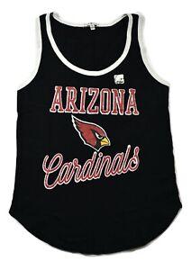 Junk Food Womens NFL Arizona Cardinals Touchdown Tank Top Shirt New XS-2XL