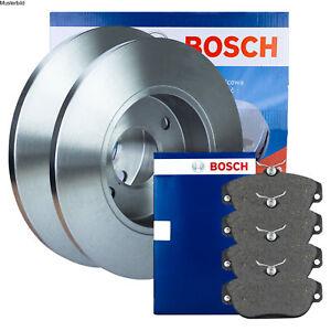 Bosch Bremsscheiben und Bremsbeläge  Ford C-MAX II Focus III vorne und hinten