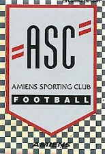 N°345 ECUSSON BADGE AMIENS.SC VIGNETTE PANINI FOOTBALL 96 STICKER 1996