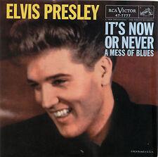 "ELVIS PRESLEY  ""IT'S NOW OR NEVER""       RED VINYL"