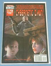MALIBU COMICS TERMINATOR 2 JUDGEMENT DAY CYBERNETIC DAWN #2 ~ DIRECT EDITION NMT