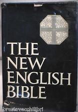 THE NEW ENGLISH BIBLE Bibbia 1970 Biblica Oxford Cambridge Press Inglese di e