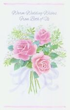 "Greeting Card - Wedding - ""WARM WEDDING WISHES"" - by Gallant!"
