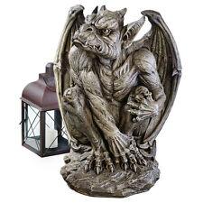 2 Ft. Gothic Sentinel Gargoyle Sculpture Medieval Guardian Statue - Large