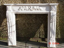Windsor plaster fire surround professionally handmade    none flamable