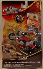Power Rangers Megaforce - Zord Builder Red Ranger Dragon Cycle By Bandai (MOC)