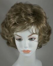 Light Brown/Blond Short length Wig w/Soft Curls & Bangs