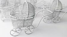 12 Baby Shower Carriage Favors Metal Recuerdos Baby Shower Carreola