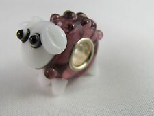MURANO 3D SINGLE SILVER CORE ANIMAL BEAD FOR EUROPEAN STYLE CHARM BRACELETS