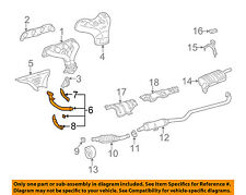 TOYOTA OEM 98-02 Corolla 1.8L-L4 Exhaust System-Front Pipe 174100D010